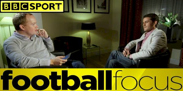 BBC One: Football Focus: Ben Smith asks Coach McKinstry about his success; Ebola; and plans for the future.