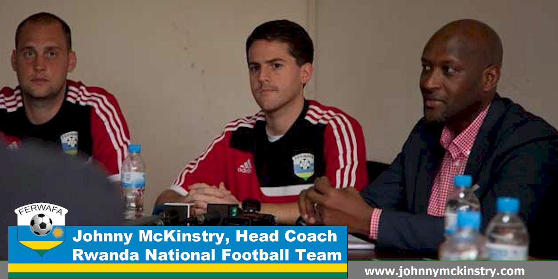 Press Conference: Coach McKinstry arrives in Rwanda