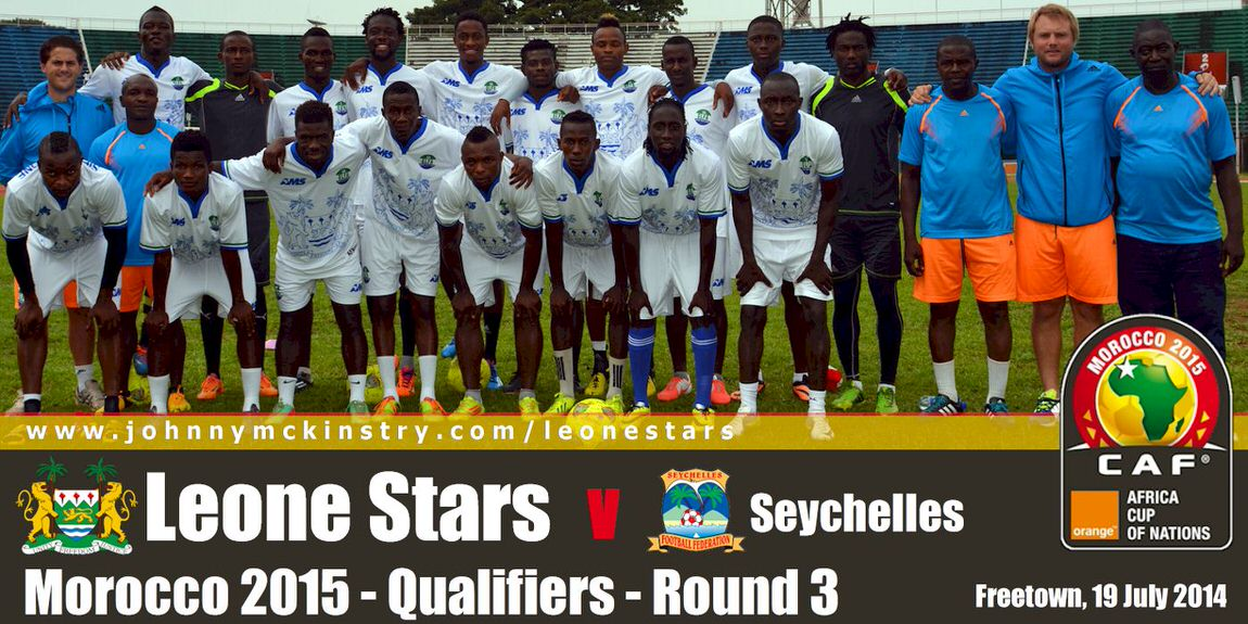 Leone Stars Training Squad for Seychelles encounter (July 2014)