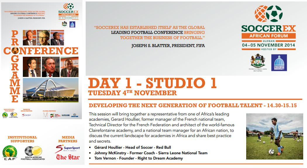 Coach McKinstry to share expertise at SoccerEx 2014.