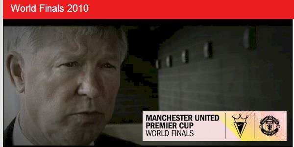 Sir Alex Ferguson, Coach McKinstry and others speak on the official showreel for the Manchester United Premier Cup - 2010 World Finals