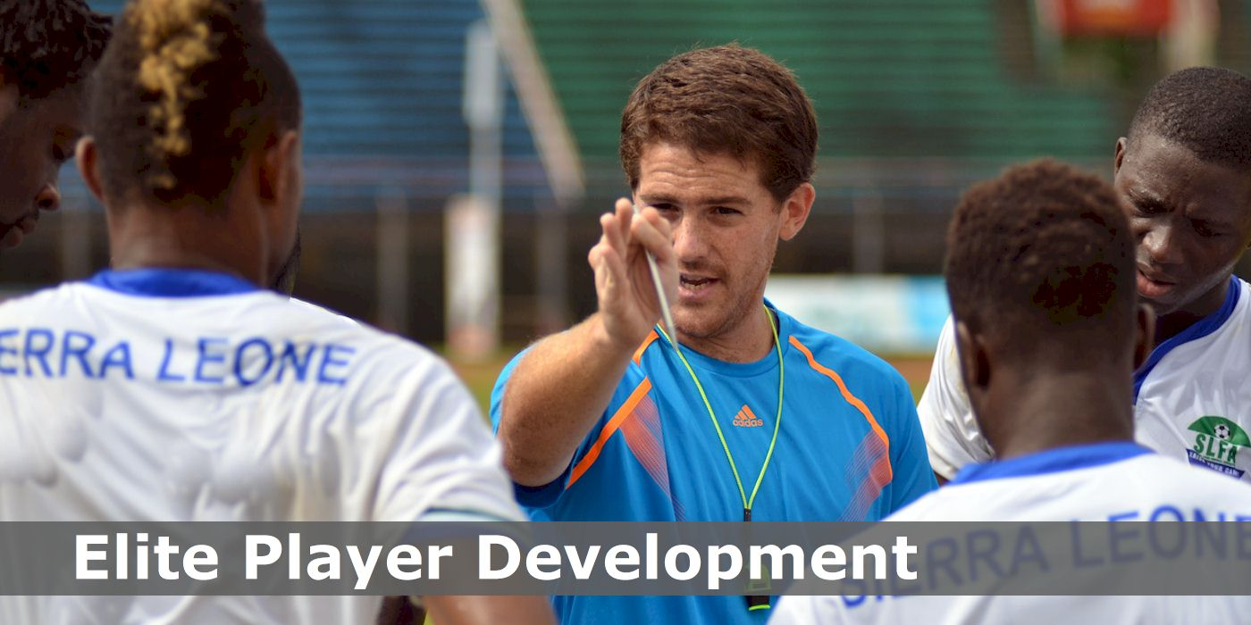 Johnny McKinstry, Academy Manager, coaching elite young players