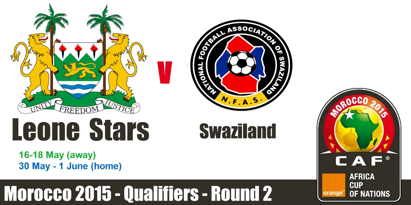 AFCON 2015 - Sierra Leone V Swaziland