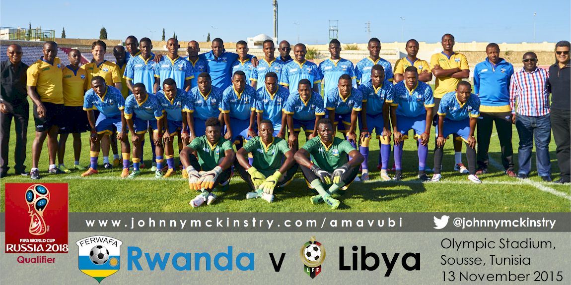 Squad Picture [Rwanda Training Camp before WC2018 Qualifier Vs Libya on 11 Nov 2015.  Photo © Darren McKinstry 2015]