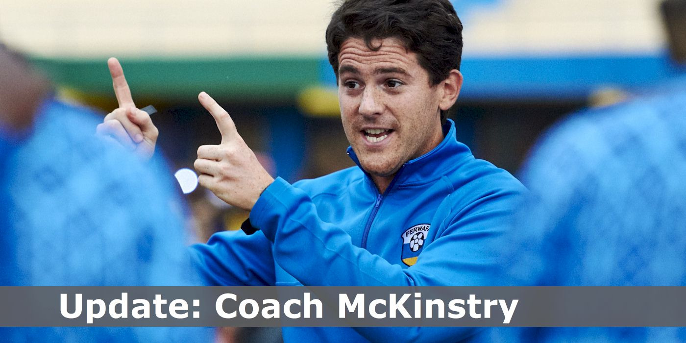 Latest: Coach McKinstry (Pic: Darren McKinstry)