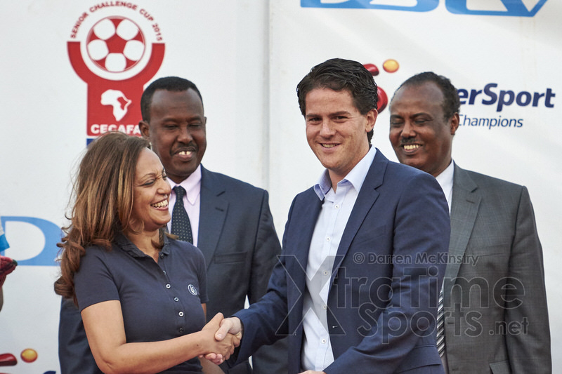 Coach McKinstry is named 'Coach of the tournament' [Rwanda vs Uganda, CECAFA 2015 Final, 5 Dec 2015 in Addis Ababa, Ethiopia.  Photo © Darren McKinstry 2015, www.XtraTimeSports.net]