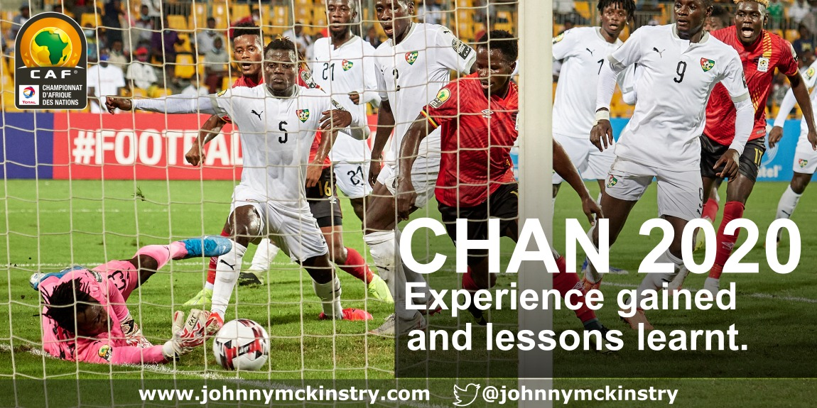 CHAN 2020: Experience gained and lessons learnt.