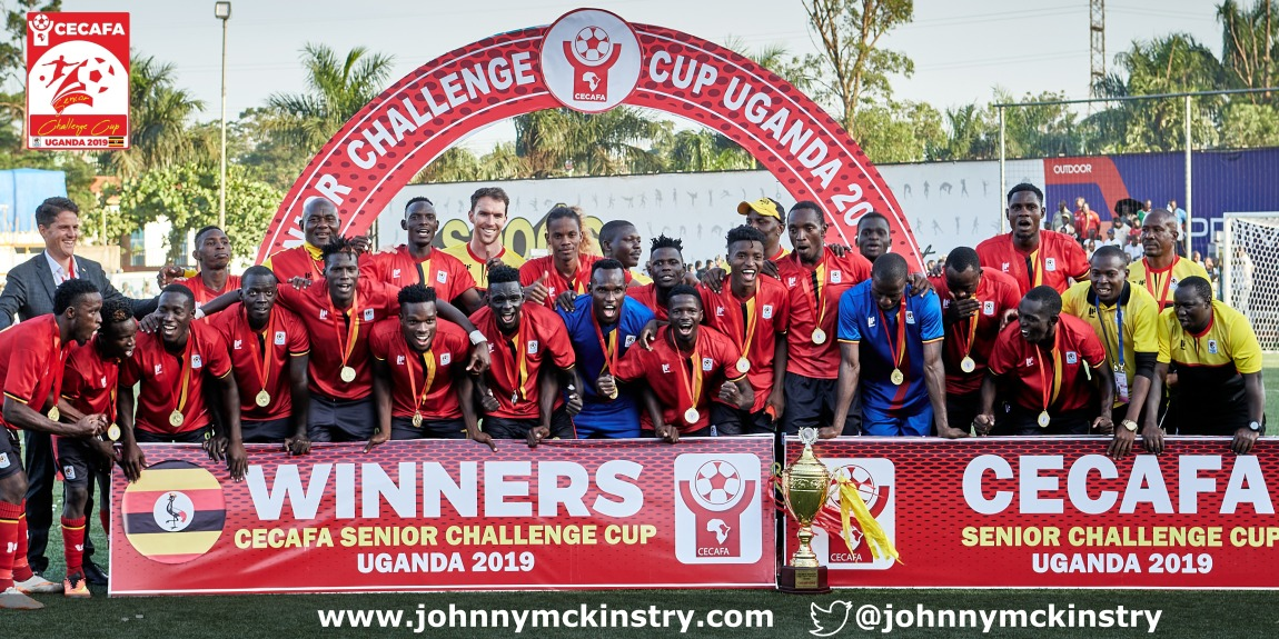 Coach McKinstry leads Uganda to 2019 CECAFA Victory